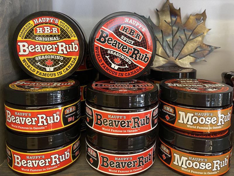 Haupy's Beaver Rub & Moose Rub