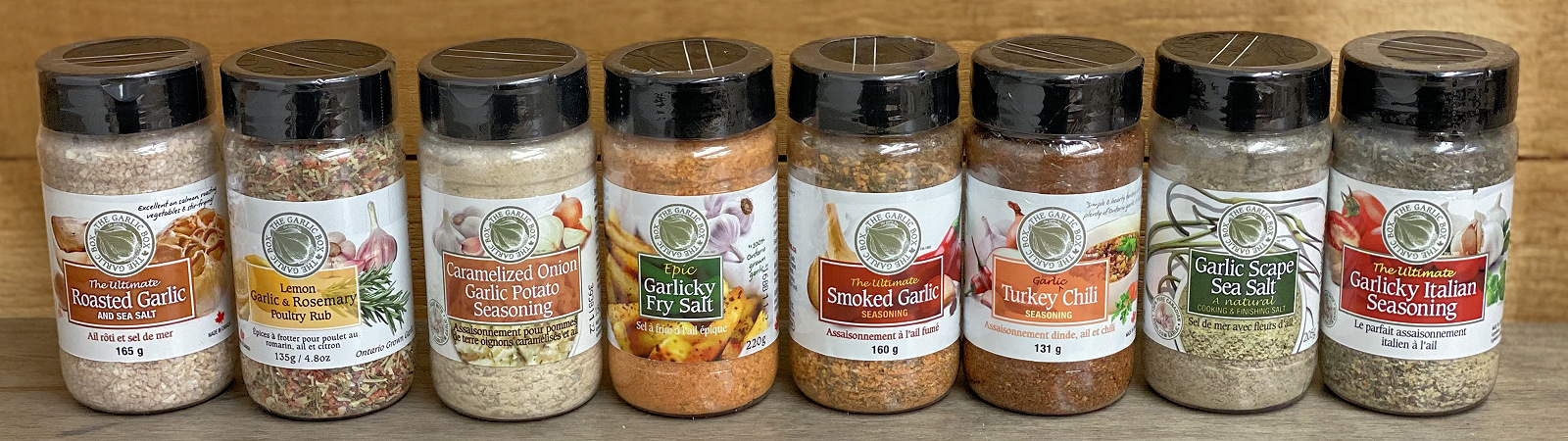 Garlic Box Seasonings