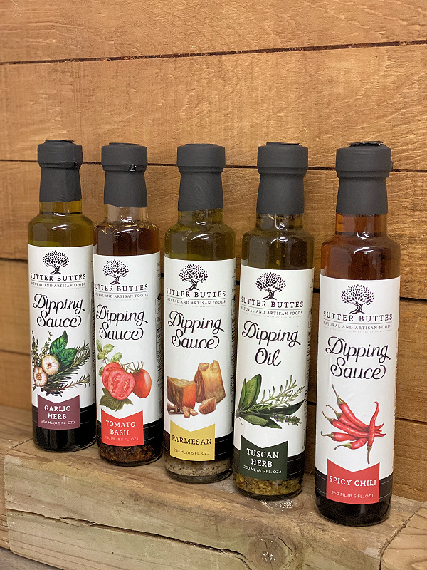 Sutter Buttes Dipping Sauces