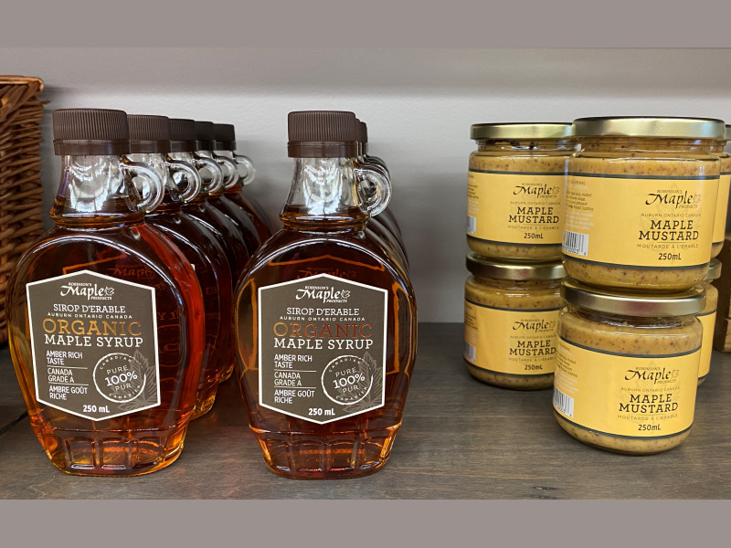 Robinson's Maple Syrup and Mustard